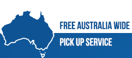Free Australia Wide Pick up Service